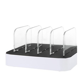 4USB Ports Charging Station with Stand for iPhone/iPad/iPod/Samsung