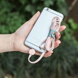 Cute Flat Wire 1.0m USB Cable for Apple IPhone Cellphones