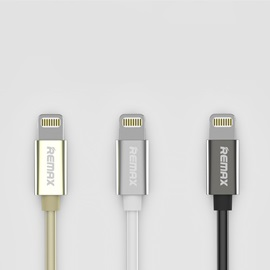 iPhone Zink Alloy Lighting Cable 2A Quick Charge Fast Charger Cord for iPhone 8/7 Plus/7/6S/6