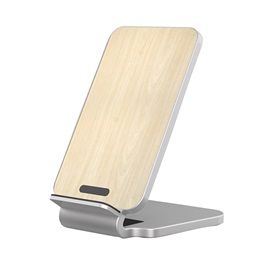 iPhone X Wireless Charger,Wood Qi Wireless Charging Stand iPhone 8 / 8 Plus/Samsung Galaxy S8