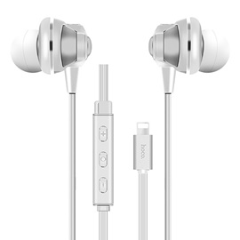 100% Original HOCO L1 Digital Earphone For iPhone 7 6s 6 Plus Bass Stereo Earbuds HiFi Headsets With Mic For iPhone Lightning