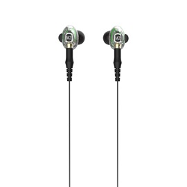 M2 Detachable Cable Earbuds Bluetooth Headphone Noise Reduction Dual Moving Coil Wireless Earphone Sport Stereo Earbuds with Mic