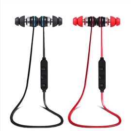 HUAST In-Ear Bluetooth 4.1 Magnet Metal Sports Earphone Super Stereo Auriculares Bass Headset Earphone for iPhone Samsung Xiaomi