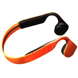 Original Bone Conduction Wireless Bluetooth Headset Bluetooth 4.1 Waterproof Neck-strap Stereo Headphone