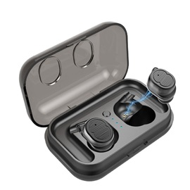 TWS-8 Touch Control Bluetooth 5.0 Earphones Waterproof True Wireless Earbuds Mini Sport Earphone For Phone With Mic Charging Box