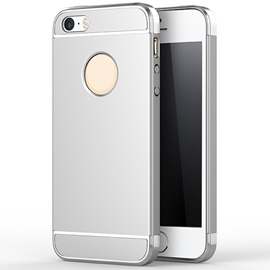 Drop Resistance Electroplate Back Cover Mobile Phone Shell for iPhone 5/5S/SE