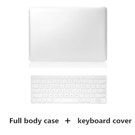 Top Selling Metal Style PVC Hard Full Body Case and TPU Keyboard Cover for MacBook Pro 13.3
