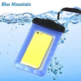 Swimming Phone Pouch 20M Waterproof Phone Bag with Lanyard for iPhone 6/6Plus/5/5S/5C