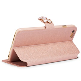 Drop Resistance Dull Polish Flip-Open Cover Mobile Phone Shell For iPhone 6/6S/7 5/5S/SE 6/6S/7 Plus