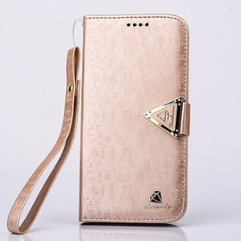 Luxurious Diamond PU Leather Full Body Case with Kickstand and Card Slot for Samsung Galaxy S6/ S7/ S6 Edge/ S7 Edge