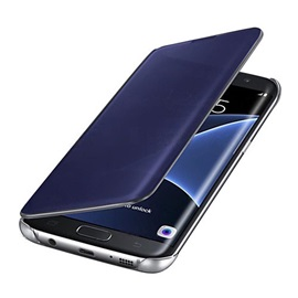 For Samsung Galaxy S7 Edge/S7/S6 Edge Plus/S6 Edge/S6 Case Luxury Clear View Mirror Flip Smart Case Cover