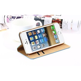 Luxury Shiny Diamond PU Leather Safe Buckle Bling Case For iPhone 5/5S/SE