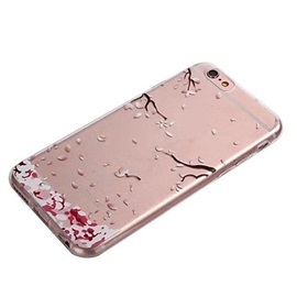 Fallen leaves Pattern TPU Soft Case for iPhone 6s 6 Plus