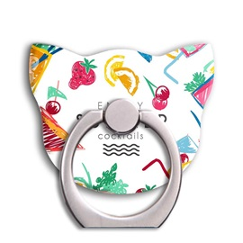 Colorful Cat Series Ring Buckle Bracket to All Mobile Phone Tablet Computer