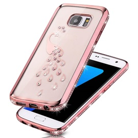For Samsung Galaxy S6/ S6 Edge/S7 Luxury Surface Screen Crash Proof Plastic Phone Case