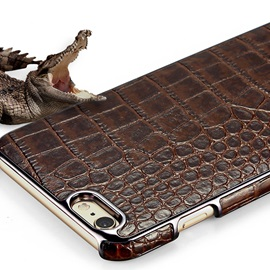 Leather luxury crocodile business crash proof phone case for iPhone6 / 6s / 6Plus / 6s Plus