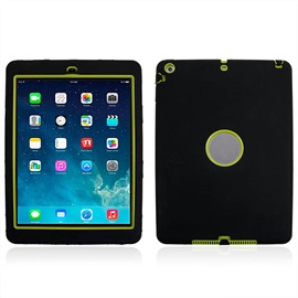 For iPad Air Safe Armor Shockproof Heavy Duty Silicone Hard Case Cover