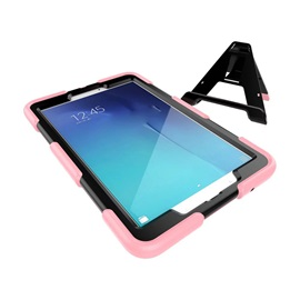 ShockProof Heavy Duty Stand Tablet Back Case Hard PC Silicone Back Cover for Samsung T560