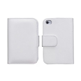 Ultra Slim Leather Flip Case for iPhone4/4s