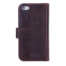 Crazy Horse Pattern Wallet Flip Leather Cover Case for iPhone 5