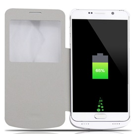 4200mAh Rechargeable External Battery Backup Charger Case for Samsung Galaxy Note 5