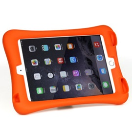 Silicone Stand Case Cover Shockproof Dustproof Protective Case for iPad Mini1/2/3