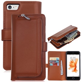 For iPhone7/7Plus/6/6s Cover PU Leather Wallet Case