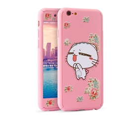 For IPhone 6/6 S/6 Plus Pink Cartoon Pattern Case to Women