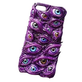 Protective Hard Case with Customized Eyeball Pattern for IPhone 8 Samsung S7/S7E/S8/S8Plus