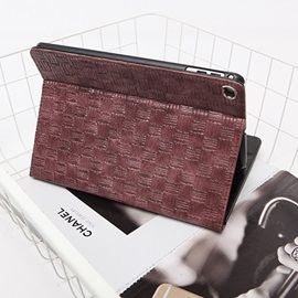 New 2017 iPad 9.7 Inch Case Weave PU Leather Case Cover with Stand Function for iPad Pro iPad 2/3/4 iPad Air1/2