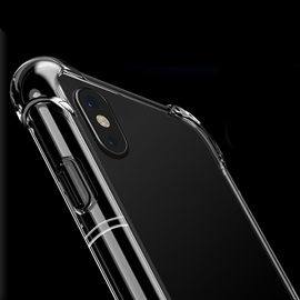 Crystal Clear Air Cushion TPU Ultra Slim Protective Scratch-resistant Case for iPhone 8/8 Plus/X/7/7 Plus/6 S
