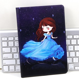 Xiaomi Mi Pad 1 Case PU Leather Cartoon Style Smart Case With Stand Function for Xiaomi Mi Pad 1