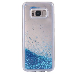 Samsung S8 Case Glitter Liquid Protective Bumper Case Floating Bling Sparkle Quicksand for Samsung S8 S8+