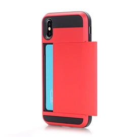 TPU+PC Shell Case with Card Slot