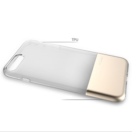 iPhone 8/8 Plus/7/7 Plus Case,Metal+TPU All Edge Protection Shell