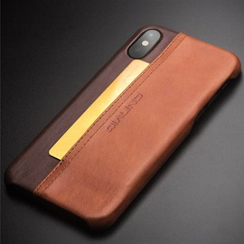 Leather Business Protection Case for IPhone X