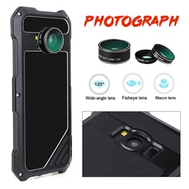 VIKING Metal Protective Case with Lens for Samsung S8/S8 Plus