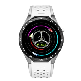 Unisex Stainless Steel Case Synthetic Leather Band 2 MP Camera Pixels All Compatible Passometer Smart Watch