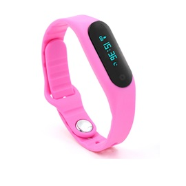 E06 Smart Healthy Bracelet IP67 Waterproof Bluetooth V4.0 Wristband with Remote Capture
