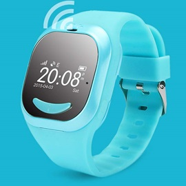 New Children's Smart Watch Phones Support GPS Wifi Four-Bit Positioning Control Anti-lost
