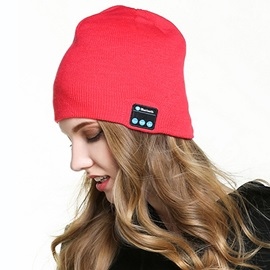 New Winter Bluetooth Hat HD Stereo Wireless-control for Android/IOS