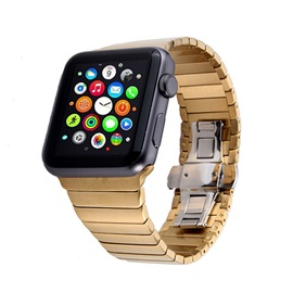 Stainless Steel Smartwatch Strap for 38mm/42mm Apple Iwatch Smart Watch Tech