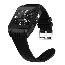 X86 Android Smart Watch Phone Resistant Water Activity Monitor Support SIM-card & GPS