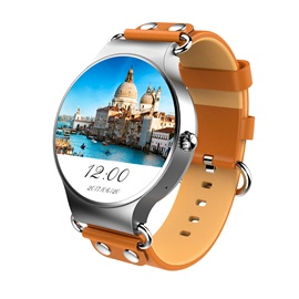 KW98 Android Smart Watch 8GB Support Wifi GPS Heart Rate Monitor