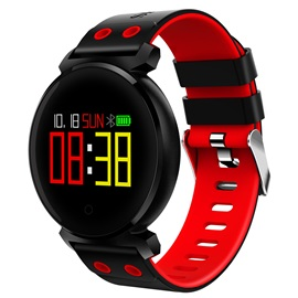 2018 K2 Pop Smart Watch IP68 Waterproof Fitness Tracker for Apple Android Phones Christmas Gifts