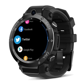 Zeblaze Thor S 3G Smart Watch with Metal Curve Support GPS/Wifi/Camera 1GB+16GB