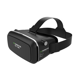 VR SHINECON 3D Virtual Reality Glasses Video Movie Game Box for 3.5-6.0 Inches Smartphones
