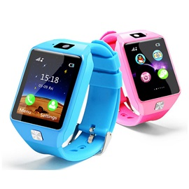 EU9 Child Phone Smart Watch 1.54 Inch Touch Screen Bluetooth Calls for IOS Android with SIM Card Passometer