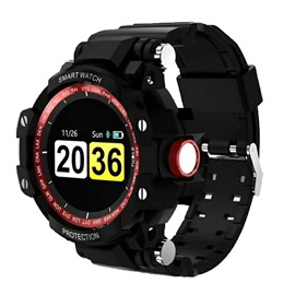 GW68 Bluetooth Smart Watch Sports Tracker PPG Heart Rate BP Monitor Three Anti-IP67 Large Battery Life