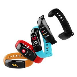 U8 Plus Smart Bracelet Heart Rate BP Monitor IP67 Waterproof Sports Activity Fitness Tracker Y8 PLUS Watch